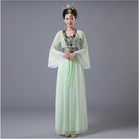 DJGRSTER Chinese Traditional Women Hanfu Dress Chinese Fairy Dress 8 Colors Hanfu Clothing Tang Dynasty Chinese Ancient Costume