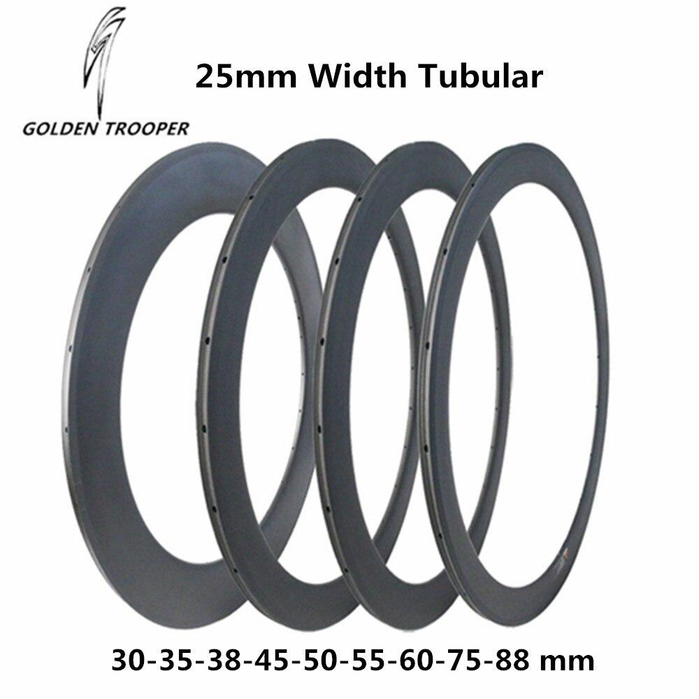 GT Carbon Wheels 30mm 35mm 38mm 45mm 50mm 55mm 60mm 75mm 88mm Tubular Rims Road Bike