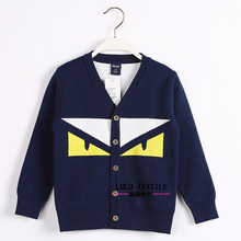Children's clothing boys and girl sweater cardigan sweater 2016 new autumn and winter children's clothing new cotton sweater