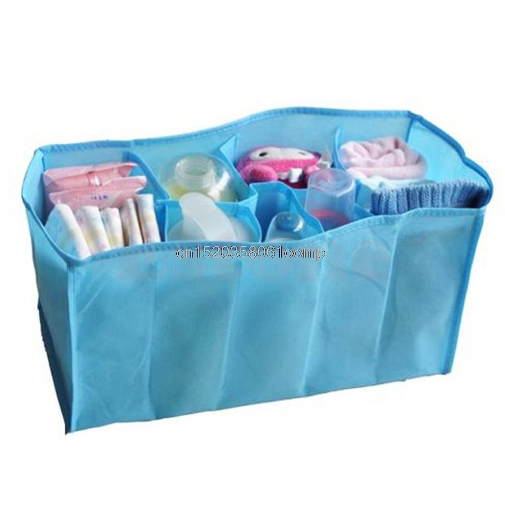 Hot Baby Nappy Travel Outdoor Storage Diaper Bag Tote Organizer Liner 3 Sizes #K4UE# Drop Ship