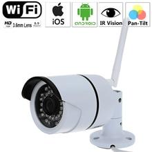 Беспроводной сети WI-FI Камера 720 P HD 1.0mp ip-камера день ночного видения открытый водонепроницаемая КАМЕРА 1/4 дюйма 3.6 мм объектив