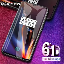TOMKAS 6D Protective Glass For Oneplus 7T Tempered Glass Screen Protect
