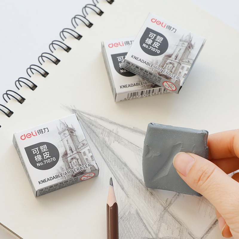 1 Pcs Plasticity Rubber Soft Eraser Studnt Sketch Drawing Art Design Dedicated Plasticine Eraser Escolar Stationery