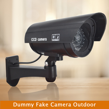 CTVMAN Fake Dummy Camera Simulated CCTV use Battery Fake Cameras Security Outdoor surveillance camera