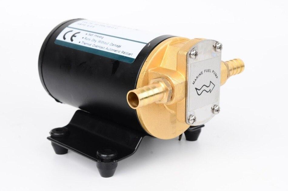 Pompe à engrenages électrique DC 24 V pompe à engrenages 14L/min pompe auto-amorçante pompe Diesel pour huile lubrifiante