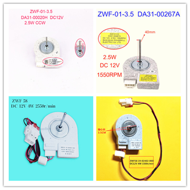 ZWF-01-3.5 DA31-00020H DA31-00267A/ZWF58 19-02402-00C 19-02402-00D/ ZWF-01-4 19-02402-00F Good Working Tested