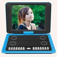 Tragbare DVD VCD Spieler, EVD Spiel Funktion, 270 360-grad-drehung/HD-player, 15,6 zoll mit TV AVI/CD-R/RW/PEG-4/Spiel Lautsprecher