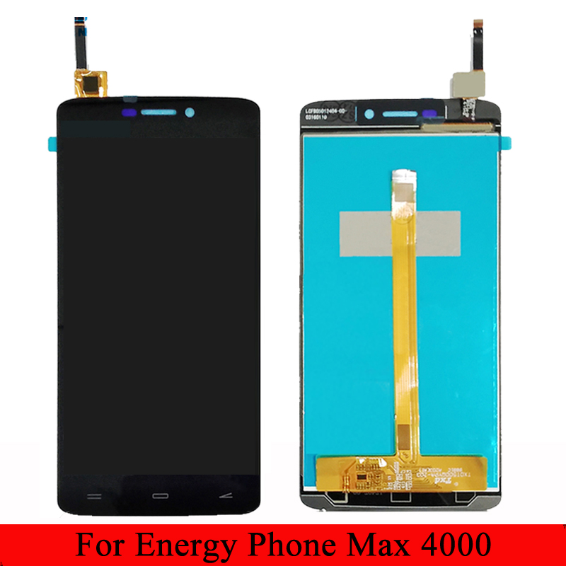 For Energy system Energy phone Max 4000 LCD Display With Touch Screen Digitizer AssemblyFor Energy system Energy phone Max 4000 LCD Display With Touch Screen Digitizer Assembly