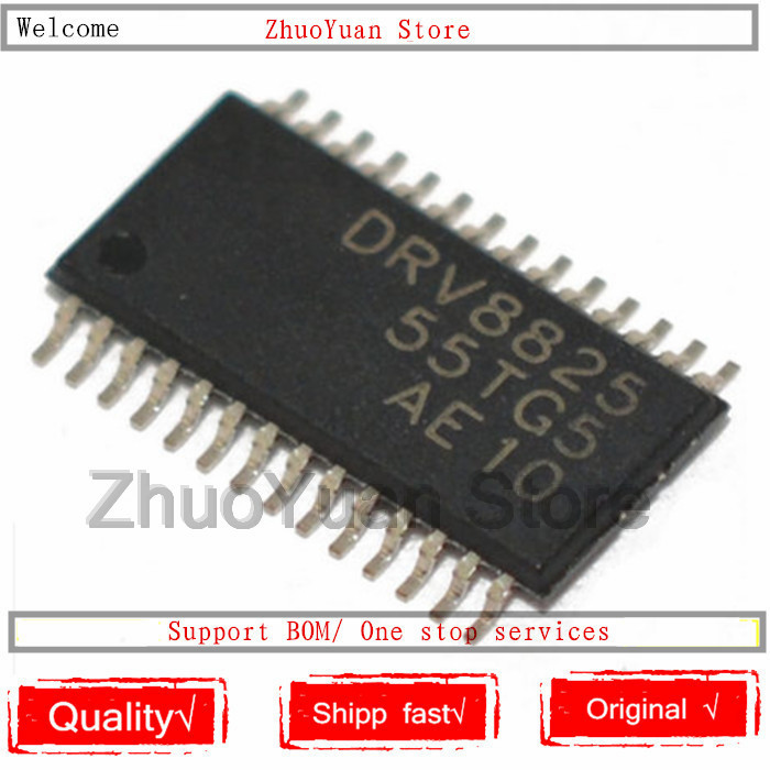 1PCS/lot DRV8825 DRV8825PWPR HTSSOP-28 2.5A Bipolar Stepper Motor Driver IC Chip