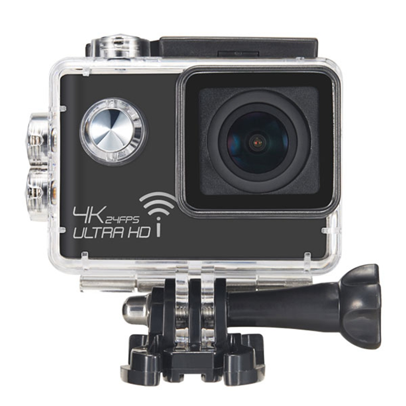 Meeegou M7 NTK96660 16MP 4K 2.0 Inch Screen 170 Degree Wide Angle WIFI HD Sport Action Camera with Microphone vs SOOCOO