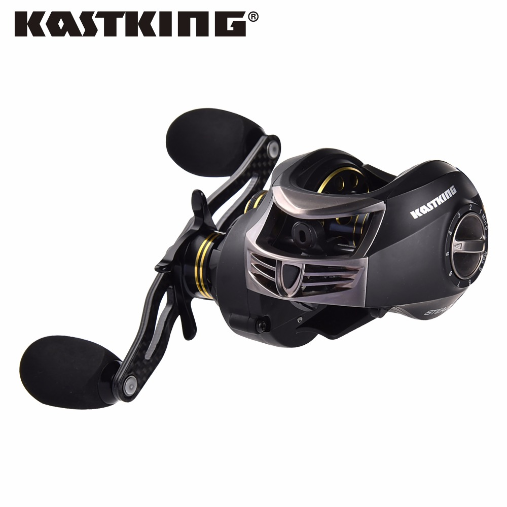 KastKing Stealth 11+1BB Carbon Body Right Left Hand Bait Casting Carp Fishing Reel High Speed Baitcasting Pesca 7.0:1 Lure Reel 12 1bb left right hand bait casting fishing reel 6 3 1 baitcasting reel magnetic brake system fish wheel pesca lyw 013