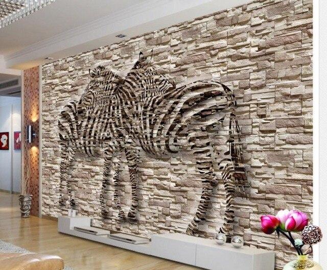 3d Papier Peint Relief Non Tissé Papier Peint Papier Peint Couloir