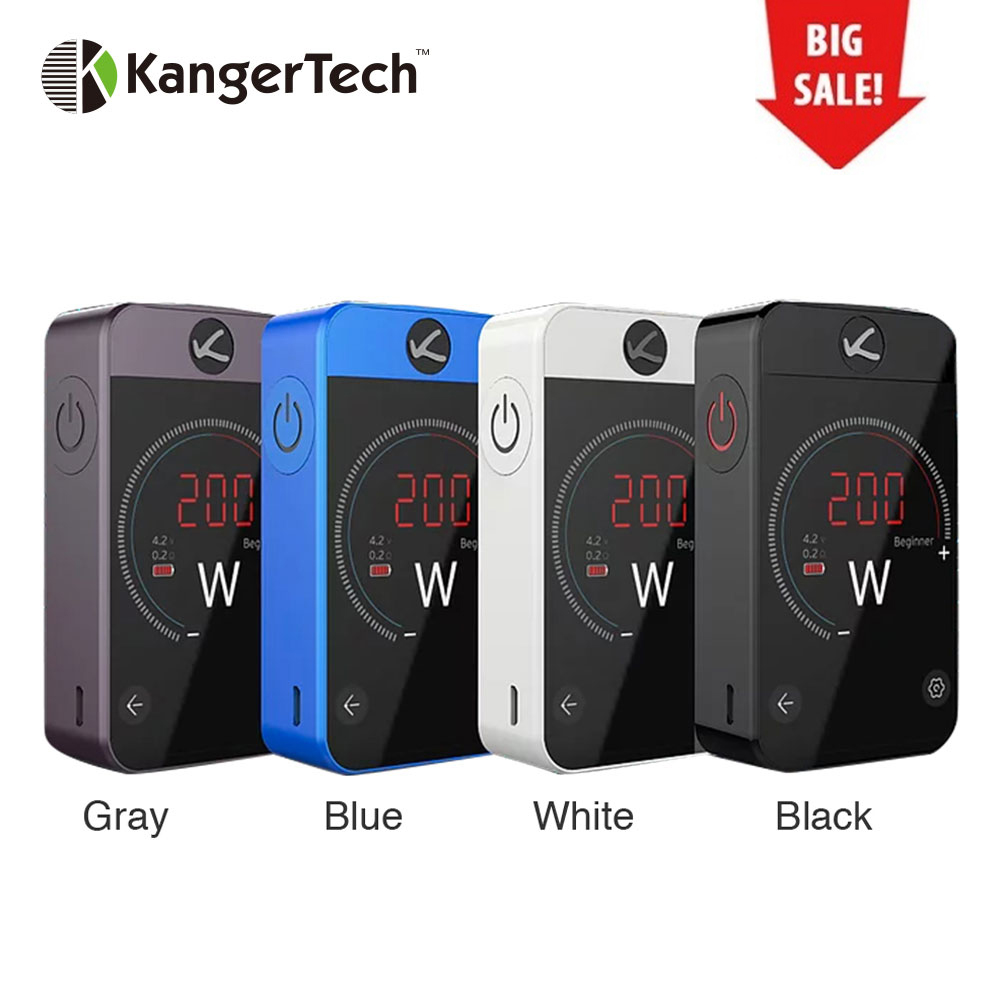 Kangertech Pollex MOD 200W Touch Screen Pollex TC BOX Mod Built-in 3500mAh battery with 200W Output Vape Vs CUBOID PRO Mod joyetech cuboid pro touch screen tc mod page 6