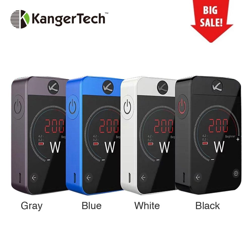 Kangertech Pollex MOD 200W Touch Screen Pollex TC BOX Mod Built-in 3500mAh battery with 200W Output Vape Vs CUBOID PRO Mod цена