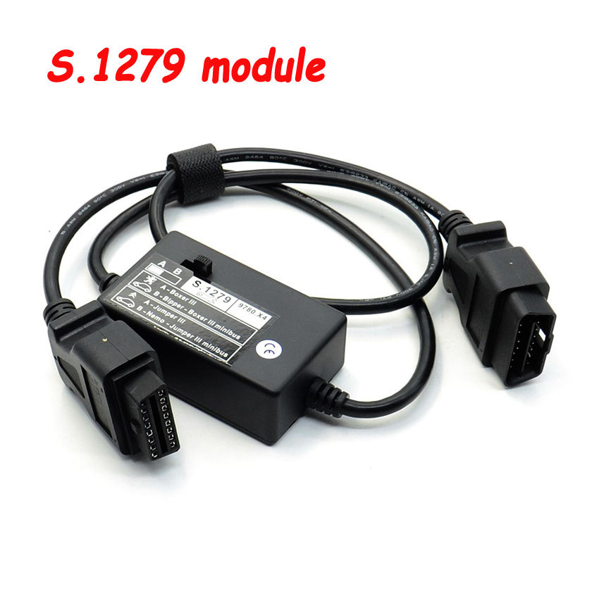 OBD Diagnostic Cable S.1279 S1279 Interface Module Professional For Lexia 3 PP2000 New Cars Boxer Scanner S 1279 For Citroen