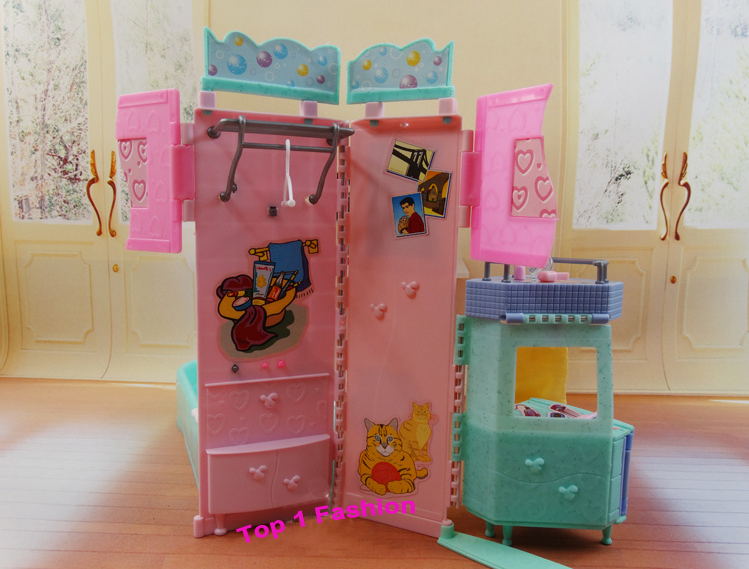 New arrival Children girl birthday gift play toy doll house ...