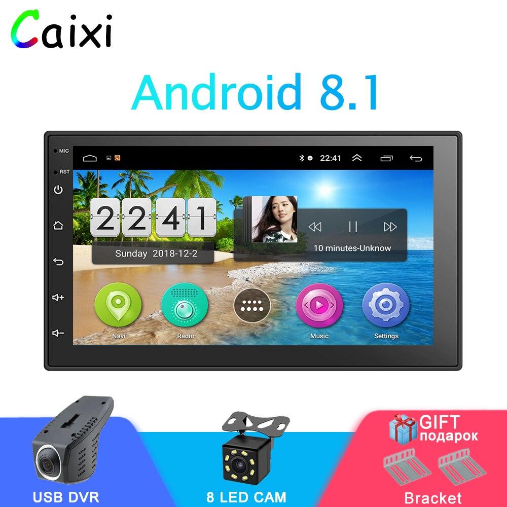 Autoradio De Voiture Android 8.1 2Din Universel navigation gps autoradio De Voiture Multimédia MP5 Lecteur Pour Nissan Hyund toyota KIA