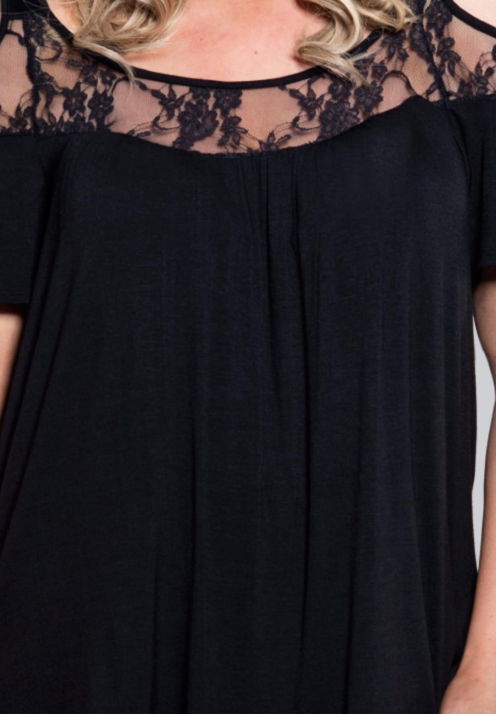 HTB1PE5LKFXXXXX aXXXxh4dFXXXR - Off Shoulder Summer Tops Short Sleeve Lace Patchwork Loose