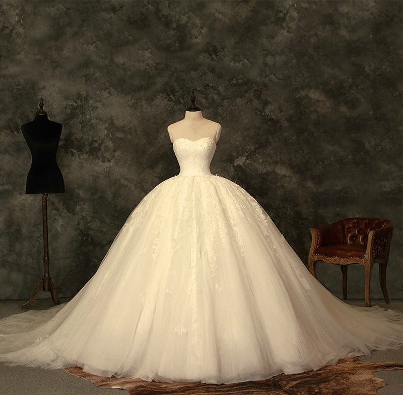 Online get cheap cinderella wedding gown for Cheap princess wedding dress