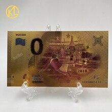 KL W009 Российская банкнота Спорт Бразилия рекламные подарки 0 евро Мона Лиза улыбка банкнота для футбольных болельщиков