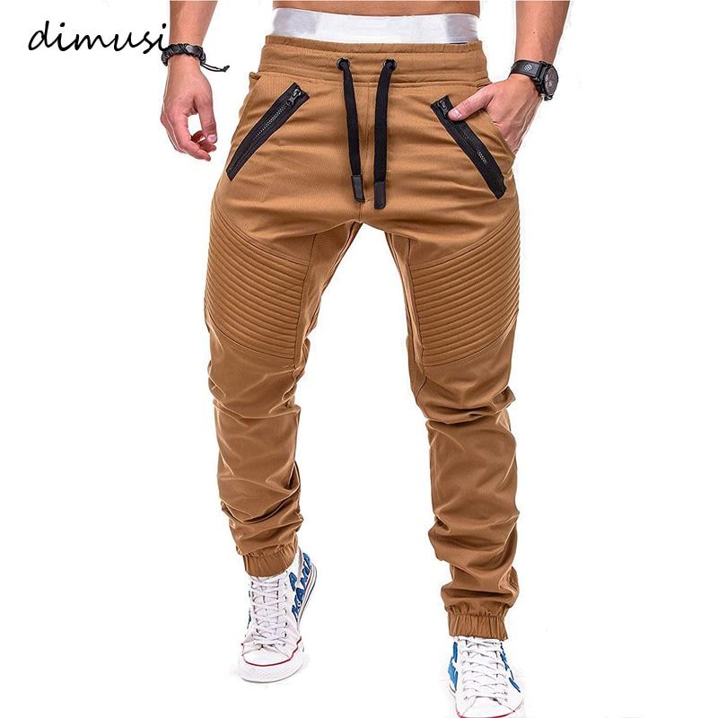 DIMUSI Mens Joggers Casual Fitness Sweatpants Men Sportswear Tracksuit Sweatpants Male Hip Hop Trousers Gyms Jogger Track Pants