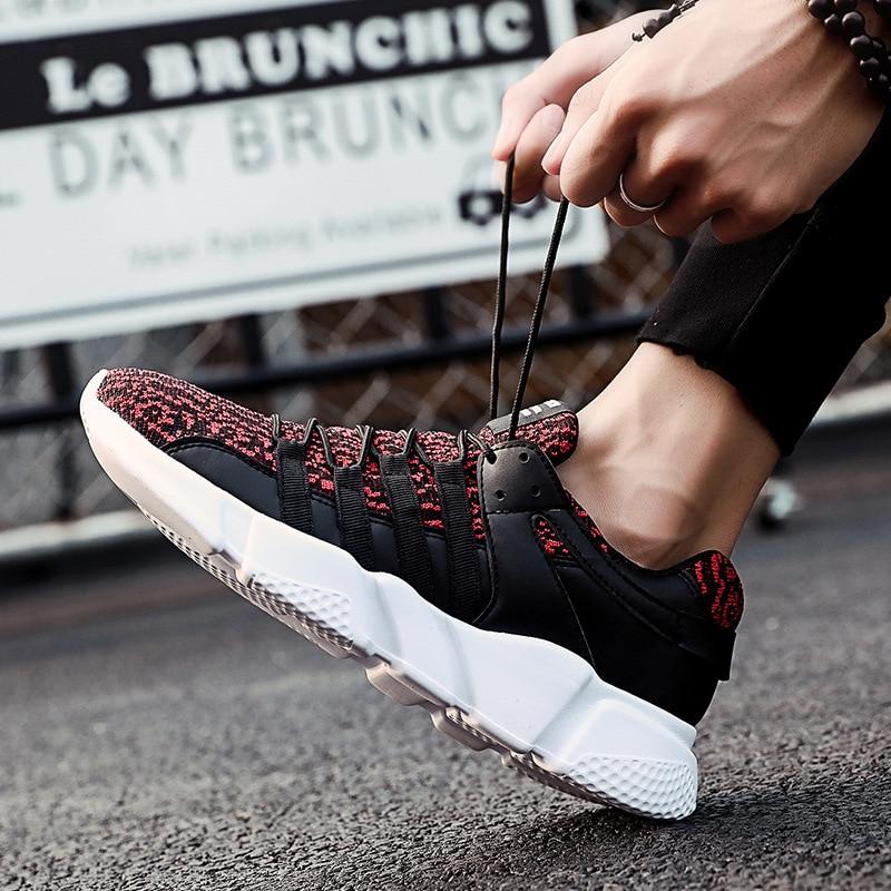 Chaussures homme baskets eté baskets chaussures décontractées respirantes