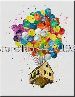 5d diamond painting cartoon Free house mosaic picture handmade rhinestone needlework embroidery Home decor