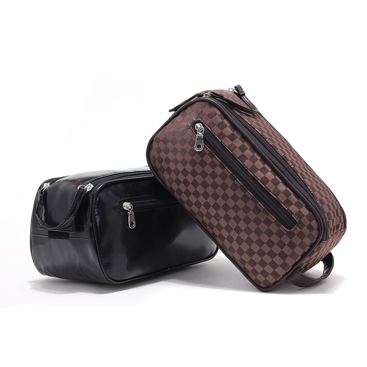 Designer Toiletry Bags. Your daily routine is made easier thanks to the impressive collection of toiletry bags online at Farfetch. Keep your entire everyday essentials safe in one place in one of the stylish men's wash bags from the likes of Moncler, Emporio Armani and DSquared2.