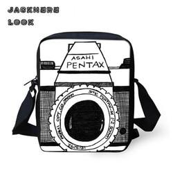 Jackherelook camera design mini crossbody bag satchel for boys girls teenager small messenger bag black toddler.jpg 250x250