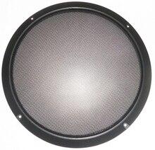 10 inhc car speaker grille/speaker grille audio grille plastic quality black paint/Free Shipping