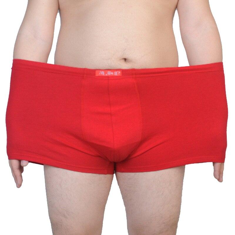 New 3pcs/lot Large Male Cotton Underwear Plus Size Mens High Waist Boxers Underpants Navy/Dark Grey/Red 4XL 5XL 6XL 7XL 8XL 9XL