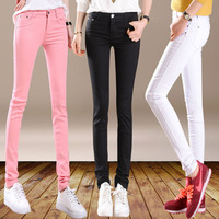 Pants White Trousers Female Skinny Casual Pants Female Trousers Legging Black Pencil Pants Tights