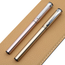 1pc / Batch Of Stainless Steel High-end Business Plastic Ballpoint Pen Commercial Advertising