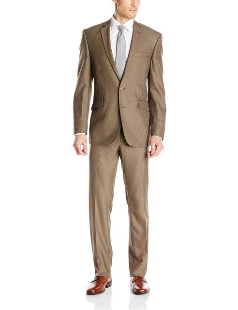 Handsome Groom Wear Tuxedo Groomsman Men Wedding Suits Bridegroom Celebrity Dress(Jacket+Pants+Vest)