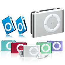 New Portable Player Mini MP3 Player  Sport  Music Player Walkman Gift Card Clip MP3 With Headset цена и фото