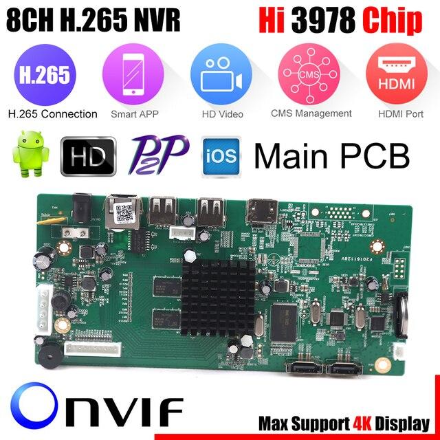 8ch cctv h 265 nvr board 4k 5mp 4mp hi3978m security nvr module 4ch rh aliexpress com