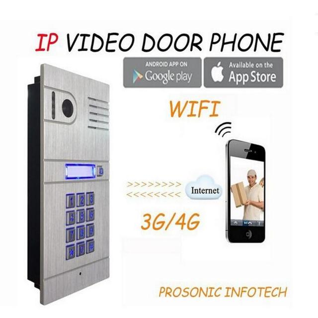 WiFi Intercom System Two Way Intercom And Remotely Unlock Door, Wireless  Intercom System, IP
