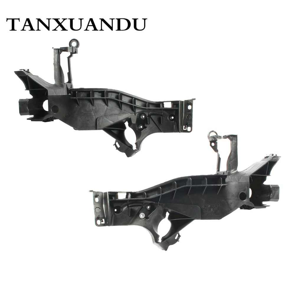 Front Main Beam Headlight Lamp Mount Bracket Support & Retainer Plate Set  For AUDI A5 S5 12-16 RS5 13-16 8T0805607D 8T0805608D