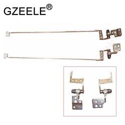 GZEELE novo para Gateway NV50A NV51B NV51M Tela LCD Dobradiça Dobradiças R & L AM0C9000500 AM0C9000600 & Bracket Set 33. r4F02.004