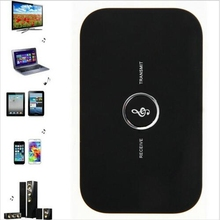 B6 2 In 1 Bluetooth Transmitter Receiver Wireless A2DP Bluetooth Audio Receiver Adapter Portable Audio Player Aux 3.5mm For TV