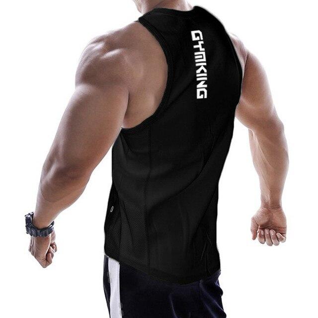 2019 new gyms clothing cotton bodybuilding tank top bodybuilder mens ropa hombre tops singlet erkek sleeveless singlet men 4