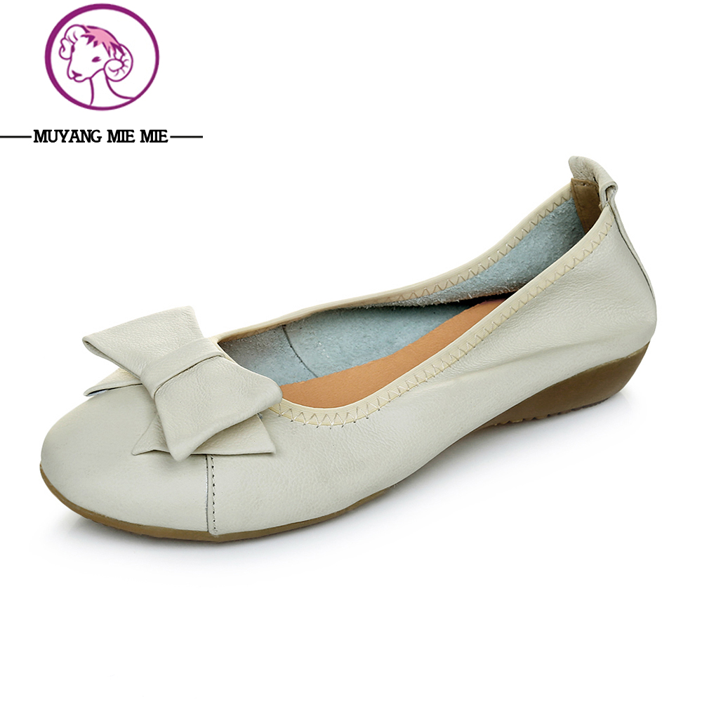 Plus Size 34-41 Women Genuine Leather Flat Shoes Woman Loafers 2016 New Fashion Single Casual Shoes Women Flats de la chance 2018 new fashion women casual shoes adults colorful women s flats shoes woman breathable harajuku flat plus size