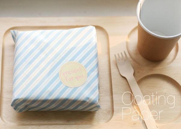 Sandwich Wrapping Paper : Aliexpress buy blue stripe sandwich wrap paper