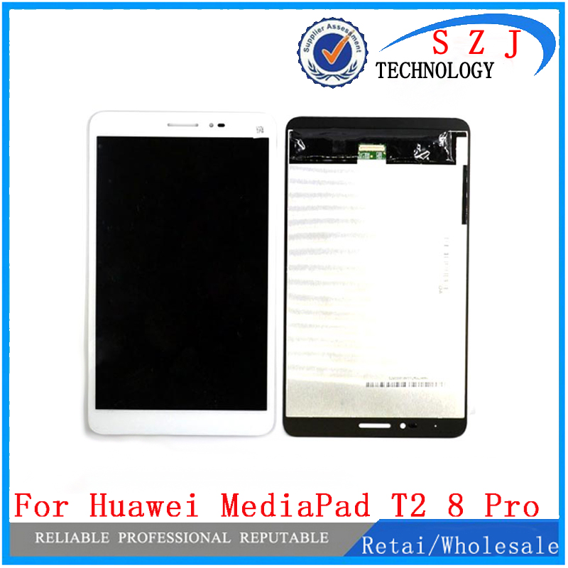 New 8'' inch case For Huawei MediaPad T2 8 Pro Full LCD Display Monitor + Touch Panel Screen Digitizer Assembly Free Shipping kz ates ate atr hd9 copper driver hifi sport headphones in ear earphone for running with microphone game headset