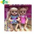 Bonecas reborn baby dolls interativos babyalive silicone baby dolls lifelike realista bonito vivo boneca do brinquedo caçoa o presente do bebê recém-nascido
