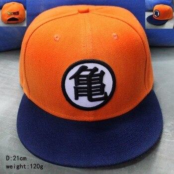 Gorra Snapback de Dragon Ball Son Goku para adulto, gorra de beisbol naranja de dibujos animados para verano Niño con estilo sombreros de estilo hip hop, Gorras de moda