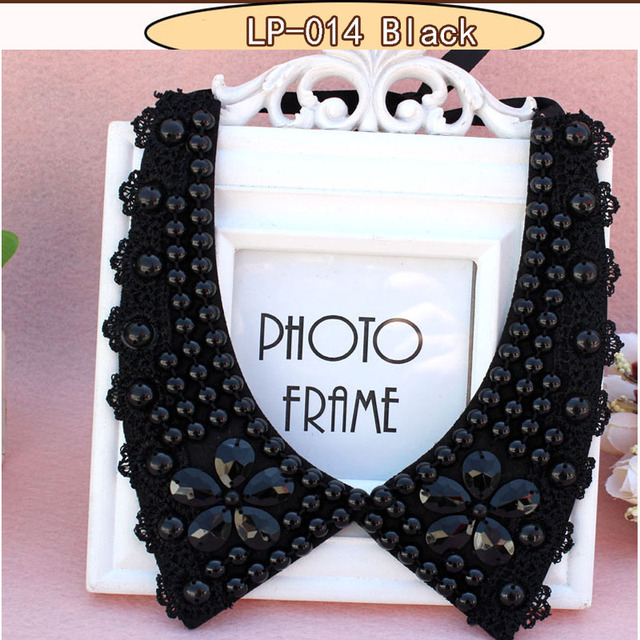 2017 accessories jewelry new rhinestone collar false jewelry necklace beads fashion collar choker vintage style crystal jewelry 3
