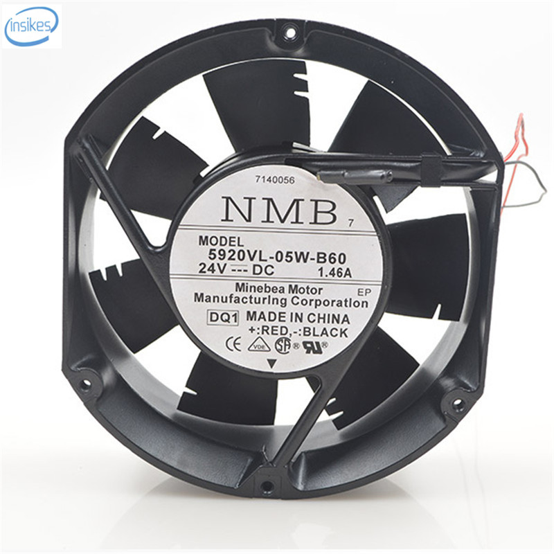 Original 5920VL-05W-B60 Computer Blower Cooling Fan DC 24V 1.46A 17251 172*150*51mm 50/60HZ фоторамка коллаж moretto 138031