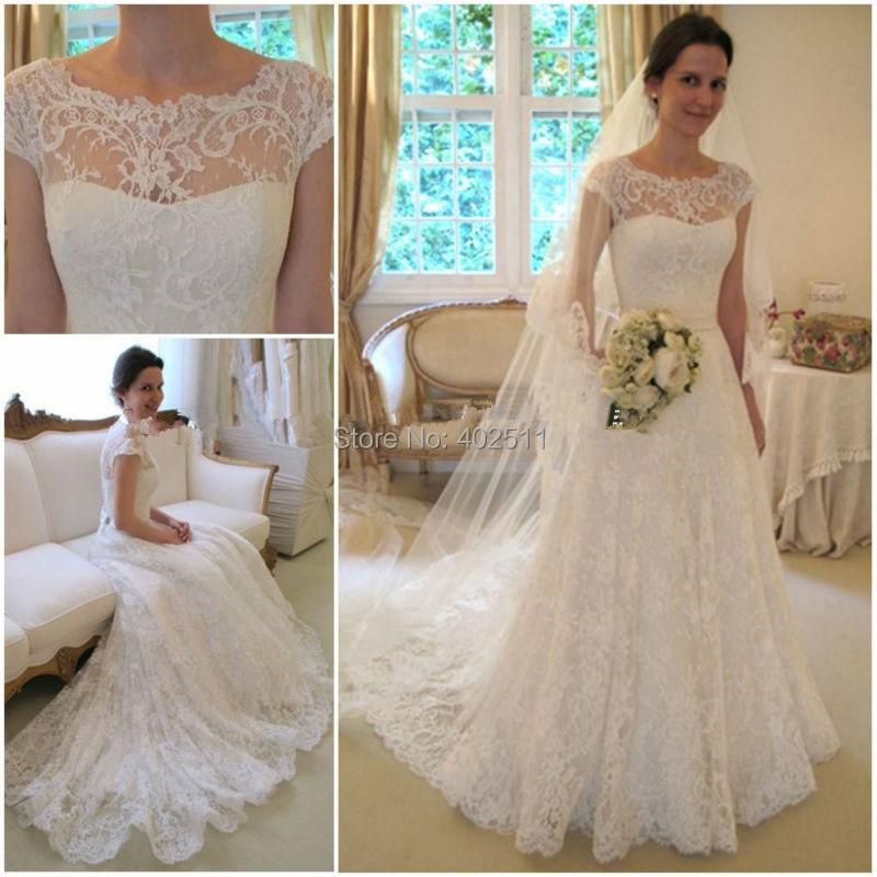 Wunderbar Elfenbein Spitze Hochzeitskleider Fotos - Brautkleider ...