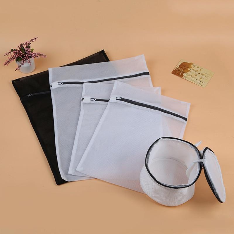 5 Pack Mesh Laundry Bags Small Large Wash Bag for Socks Bra Lingerie Delicates
